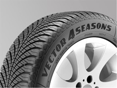 """Unbeatable!""  Goodyear's Vector 4Seasons tire earns  the praise of Gute Fahrt"