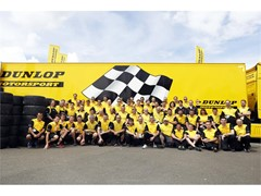 Dunlop heads to Spa - with a team of 500