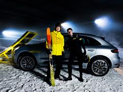 The Day Dunlop turned an SUV into a Ski Ramp