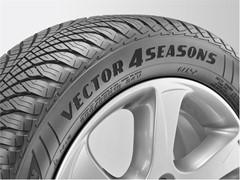 """Goodyear Vector 4Seasons Gen-2: """"esemplare"""" per Auto Bild Allrad"""