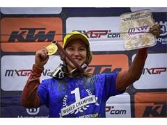 Dunlop e Kiara Fontanesi ripartono insieme alla conquista del 6° titolo iridato