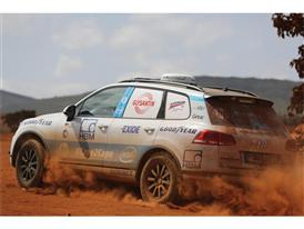 Goodyear Teams up with Cape to Cape - Vehicle in action