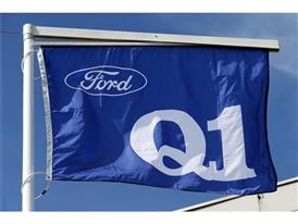 Ford Q1 Flag flies high at Goodyear Dunlop Sava Tires