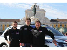 Rainer Zietlow and his driving team