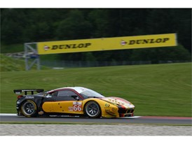 JMW Ferrari were victorious in the GTE class