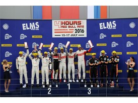 100% Yellow - The Austrian ELMS podium