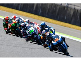 Andrea Migno took his first Moto3 pole in Japan