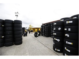 Dunlop took over 1000 tyres to Sebring for the test