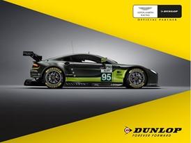 Aston Martin und Dunlop auf dem Genfer Autosalon 2017