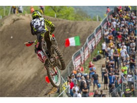Michele Cervellin racing in Italy