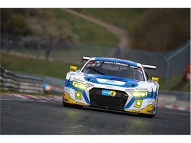 Phoenix Audi - a Nurburgring winner on Dunlop tyres