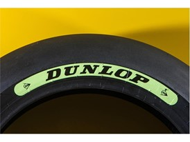 Dunlop's Moto2 soft tyre decal for 2018