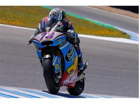 Alex Marquez Moto2 race winner in Jerez