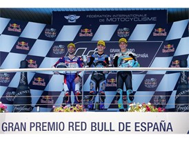 Aron Canet bounced back to take Moto3 win in Jerez