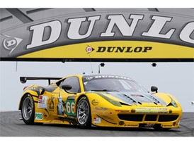 JMW Motorsport Ferrari F458 - 2013 Dunlop Art Car
