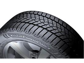 Kristall Control SUV - close up tire shot