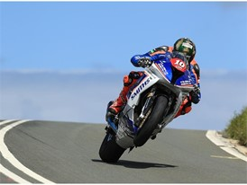 Peter Hickman secured a third TT podium with second in Supersport