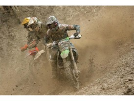 Desalle on his way to victory in Russia's mud