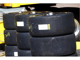 All specs of Dunlop tyres used