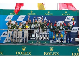Double Dunlop overall podium success at Le Mans 24hr, and LMP2 1-2
