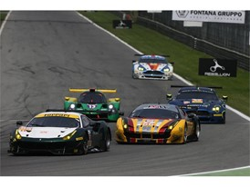 ELMS Ferraris - Spirit of Race & JMW Motorsport