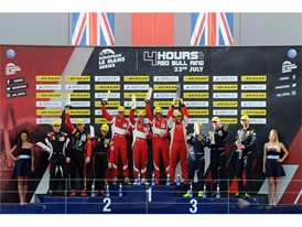 ELMS LM GTE podium