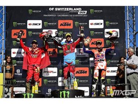 Paturel tops MX2 podium in Switzerland