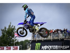 Arnaud Tonus on his way to a Swiss race win
