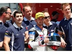 British Talent Honda rider John McPhee has three podiums in Moto3 this year