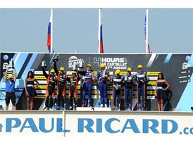 LMP2 Podium - Paul Ricard Circuit - Dunlop's 15th consecutive win