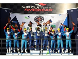 Circuit of the Americas LMP2 podium