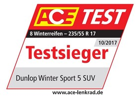 ACE Logo-Dunlop Winter Sport 5 SUV