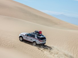 Goodyear official tire partner for Land Rover Experience Tour Peru
