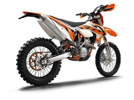 The KTM 350 XCF-W on Dunlop Geomax AT81