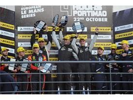 LM GTE podium - 4 Hours of Portimao