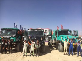 Team De Rooy wins Rallye OiLibya on Goodyear Truck Tires