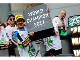 Franco Morbidelli clinched the Moto2 title in Sepang with 11 podium finishes