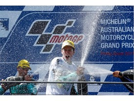 Joan Mir clinched the Moto3 title in style with win number ten in Australia