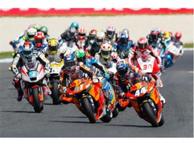 Miguel Oliviera leads Brad Binder to an historic KTM 1-2 in Australia