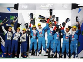 Vaillante Rebellion & Signatech Alpine - Shanghai podium finishers