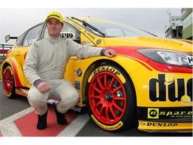 Jamie White - BRSCC Ford Fiesta Champion on Dunlop BTCC Ford Focus Test Debut