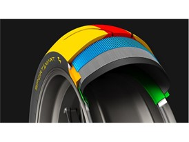 Dunlop SportSmart TT Rear Construction