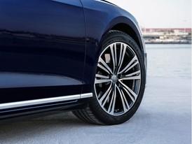 Audi A8 equipaggiata con pneumatici Goodyear di primo equipaggiamento