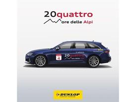 Dunlop Audi 20quattro ore delle Alpi