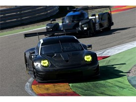 On track at Dunlop test in Spain