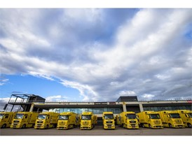 Dunlop fleet carried 3500 tyres to Spanish test