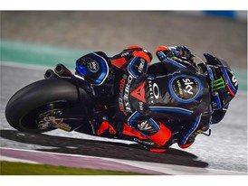 Francesco Bagnaia led from the start to take his maiden Moto2 win in Qatar