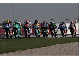 Moto2 saw a 60/40 split on rear race tyre choice