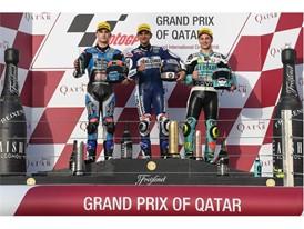 Moto3 Podium in Qatar