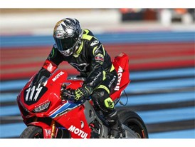 Honda Endurance Racing on Dunlops at the Bol D'Or